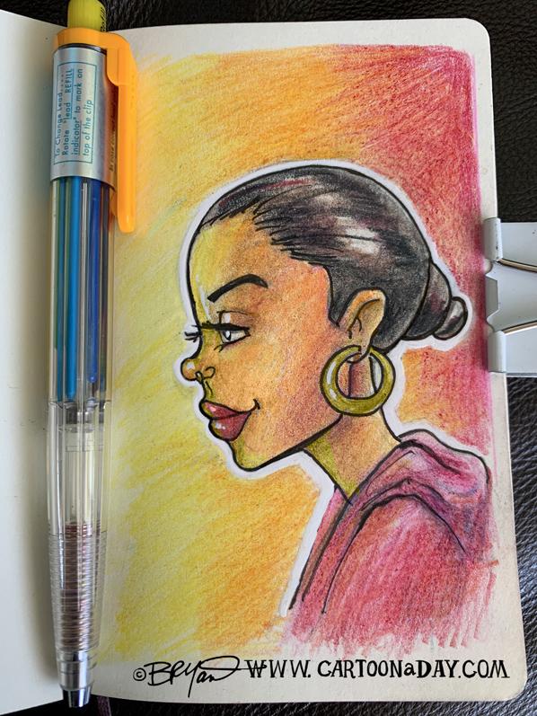 Black-woman-moleskine-profile-598