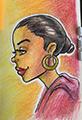 Beautiful Black Woman Profile