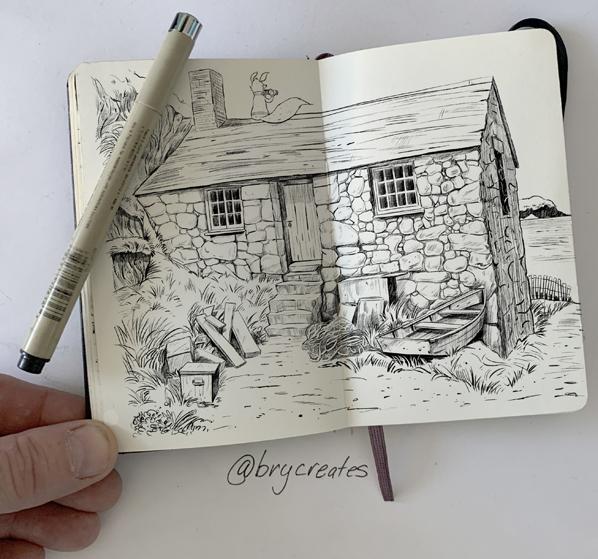Kit-the-fox-on-Cottage-Moleskine-598