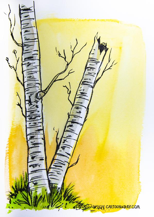 twiggy-birch-tree-yellow-watercolor-598