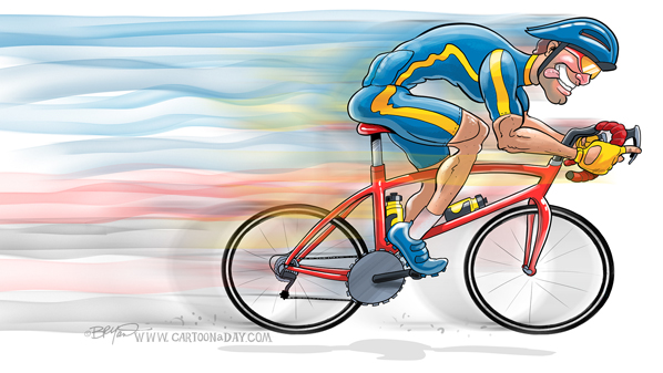 bike-cyclist-cartoon-598