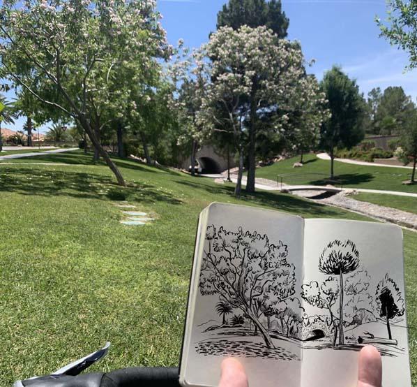 Sketchbook-park-moleskine-photo-598