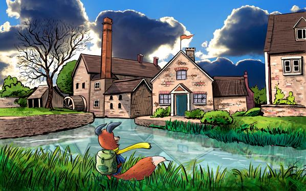 kit-fox-English-village-598