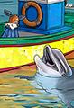 Kit the Fox Meets a Dolphin