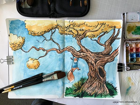 IKit-hangs-in-tree-598