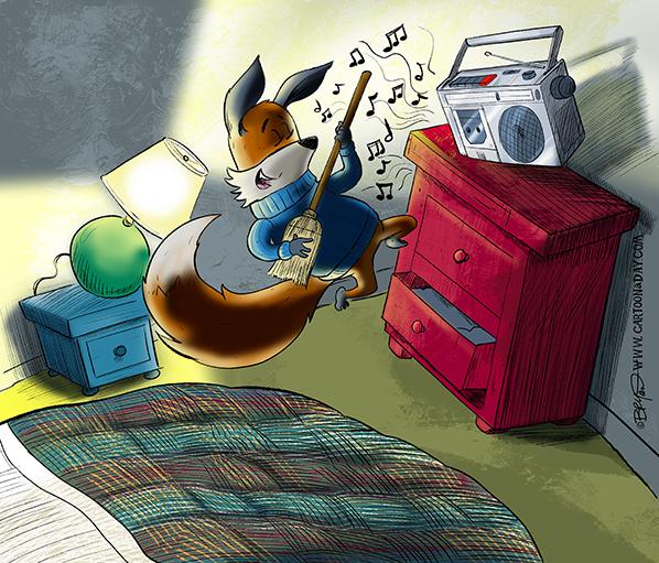Kit-fox-Radio-airguitar-598