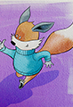 Kit the Fox Makes a Paper Airplane