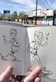 Social Distancing Sketchbook