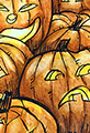 Watercolor Pumpkin Patch