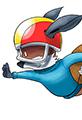 Kit the Fox takes a Football Dive
