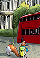 Kit the Fox Takes a Bus
