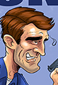 Nathan Fillion is the Rookie Caricature