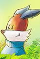 Kit the Fox in a Meadow Breeze