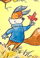 Kit the fox Welcomes Fall